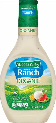 Hidden Valley Organic Ranch Dressing Perspective: front