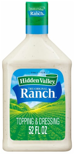 Hidden Valley Ranch Dressing Perspective: front