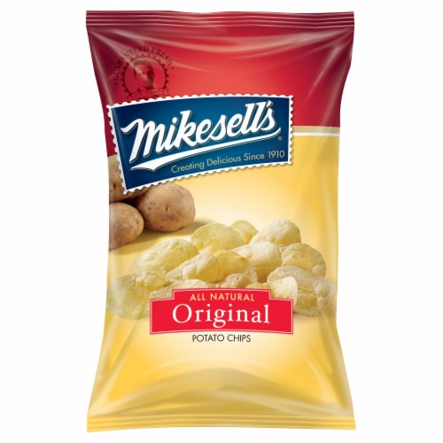 Mikesell's Original Potato Chips Perspective: front