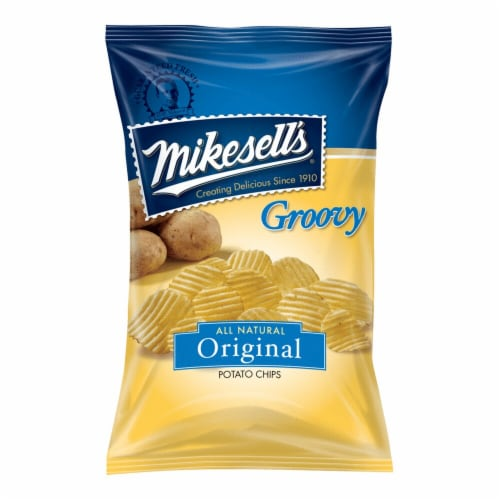 Mikesell's Groovy Potato Chips Perspective: front