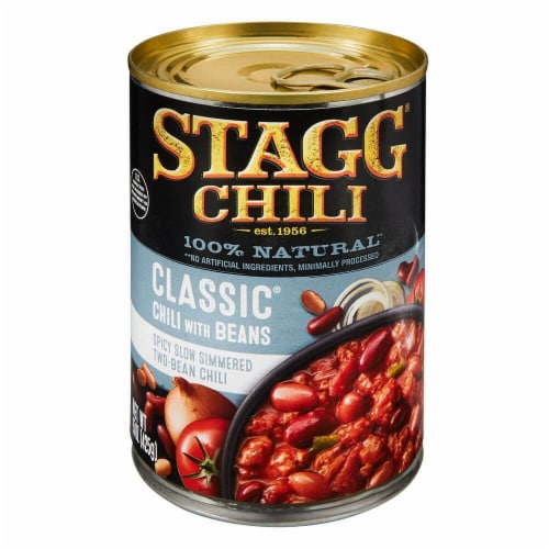 Stagg Classic Chili with Beans Perspective: front