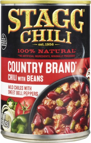 Stagg Chili Country Brand Mild Chili with Beans Perspective: front