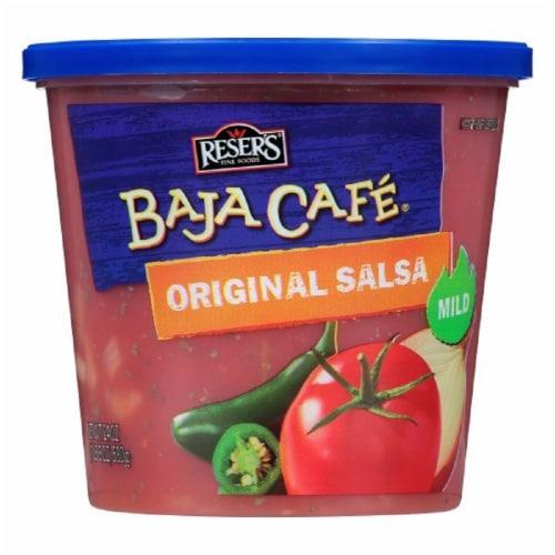 Reser's Baja Cafe Original Mild Salsa Perspective: front