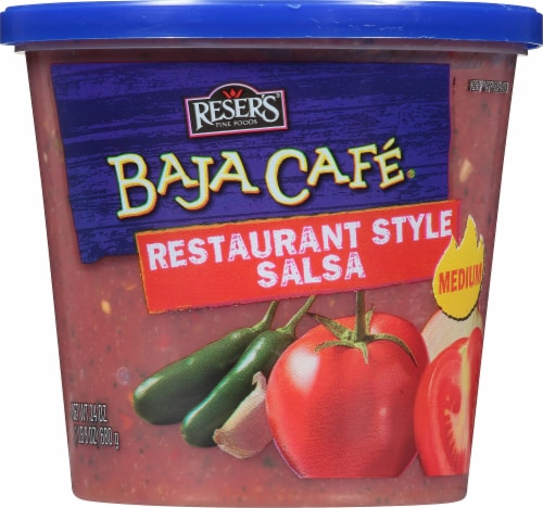 Reser's Baja Cafe Restaurant Style Medium Salsa Perspective: front