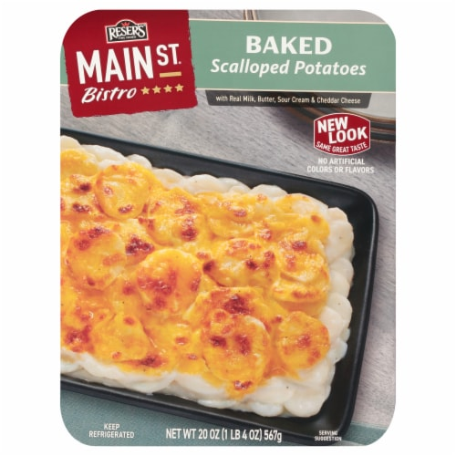 Reser's Main St. Bistro Baked Scalloped Potatoes Perspective: front