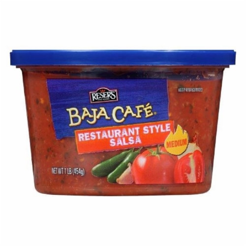 Reser's Baja Cafe Restaurant Style Medium Salsa Perspective: front