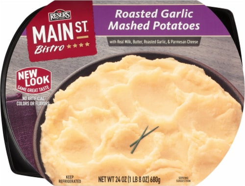 Reser's Main St Bistro Roasted Garlic Mashed Potatoes Perspective: front