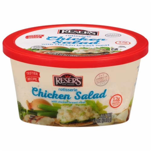 Reser's White Meat Chicken Salad Perspective: front