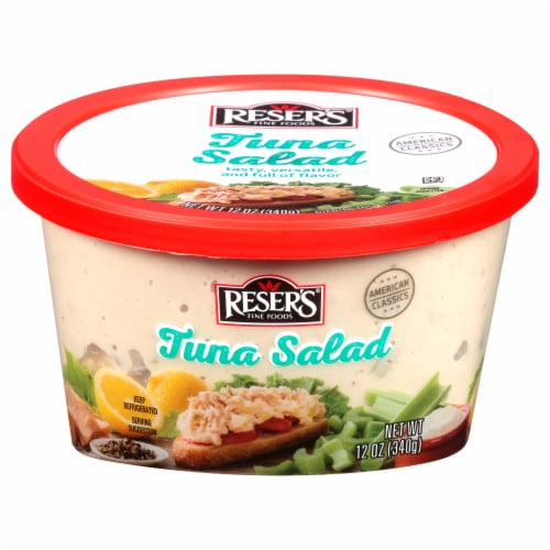 Reser's Homestyle Deluxe Tuna Salad Perspective: front
