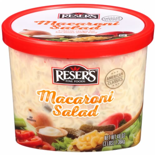 Reser's American Macaroni Salad Perspective: front