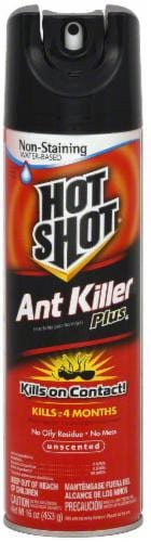 Hot Shot® Ant Killer Plus Non-Staining Water-Based Insecticide Spray Perspective: front