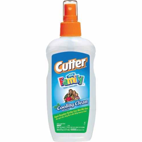 Cutter All Family 6 Oz. Insect Repellent Pump Spray HG-51070 Perspective: front
