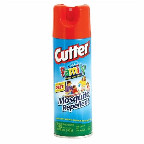 Cutter All Family 6 Oz. Insect Repellent Aerosol Spray HG-54055 Perspective: front
