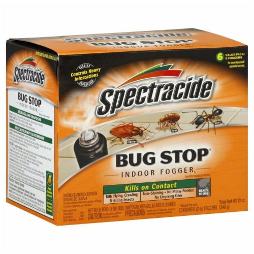 Spectracide Bug Stop Indoor Foggers - 6 Pack Perspective: front