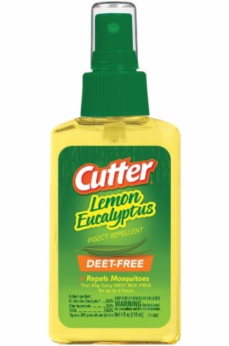 Cutter Lemon Eucalyptus Insect Repellent Perspective: front