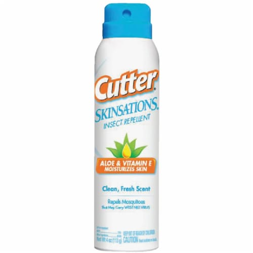 Cutter Skinsations 6 Oz. Insect Repellent Aerosol Spray HG-96172 Perspective: front