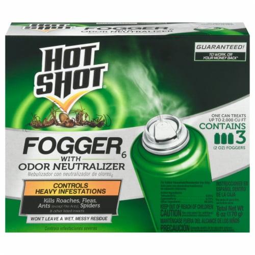 Hot Shot® Odor Neutralizer Fogger Perspective: front