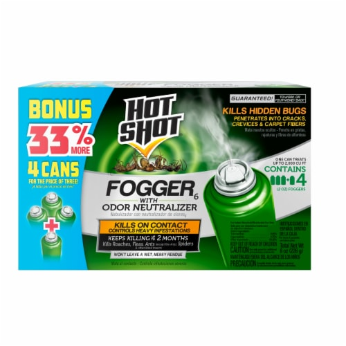 Hot Shot® Fogger with Odor Neutralizer Insecticide Perspective: front