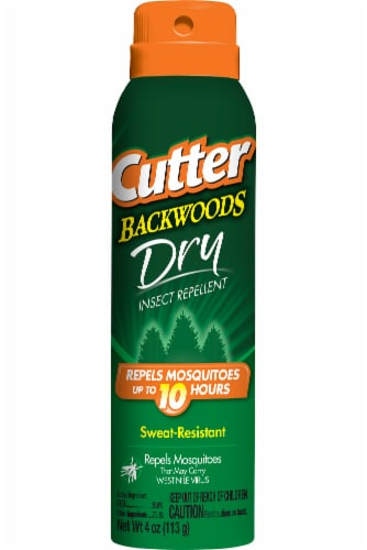 Cutter Backwoods Dry Insect Repellent Perspective: front