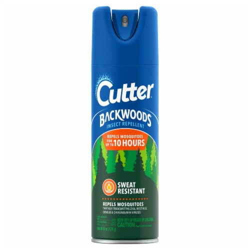 Cutter Backwoods Insect Repellent Spray Perspective: front