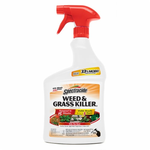 Spectracide Weed and Grass Killer Perspective: front