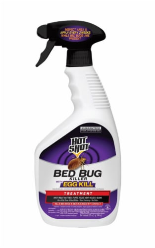 Hot Shot 32 Oz. Ready To Use Flea & Bedbug Killer HG-96441 Perspective: front