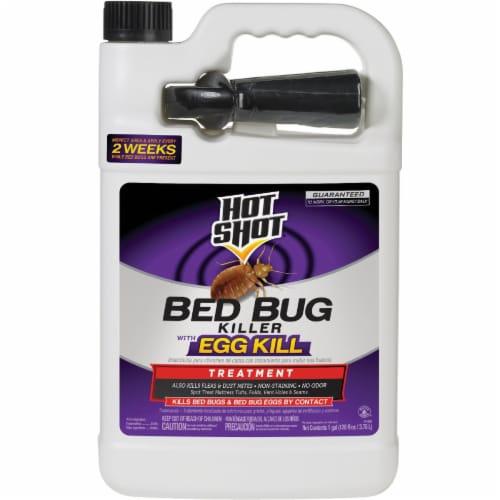 Hot Shot 1 Gal. Ready To Use Flea & Bedbug Killer HG-96442 Perspective: front