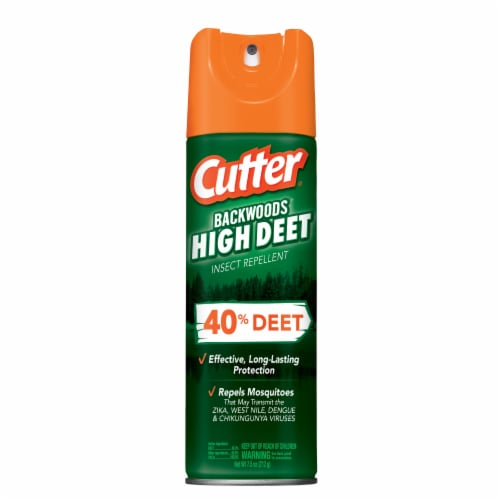 Cutter Backwoods High Deet 7.5 Oz. Insect Repellent Aerosol Spray HG-66647 Perspective: front