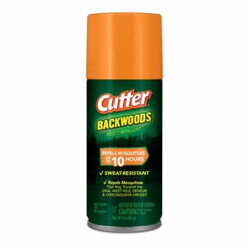 Cutter Backwoods Insect Repellent Perspective: front