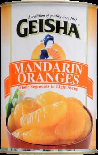 Geisha Mandarin Oranges Perspective: front