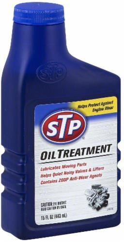 STP Oil Treatment Perspective: front