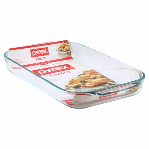 Pyrex Oblong Dish - Clear Perspective: front