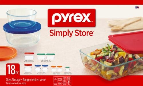 Pyrex Storage Plus Glass Storage Set Perspective: front