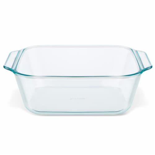 Pyrex Deep Baking Dish - Clear Perspective: front
