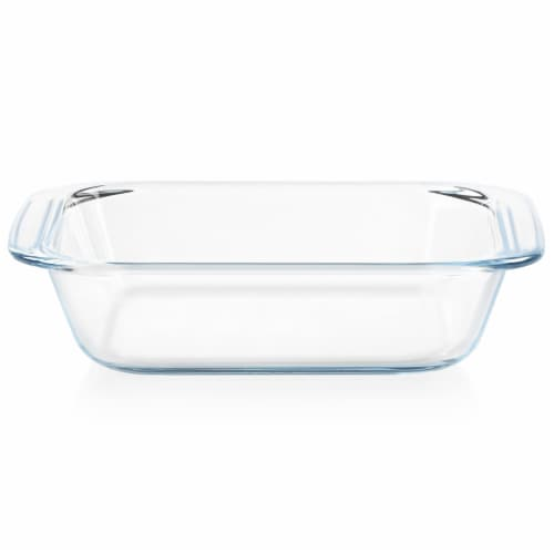 Pyrex Little Square Glassware Perspective: front