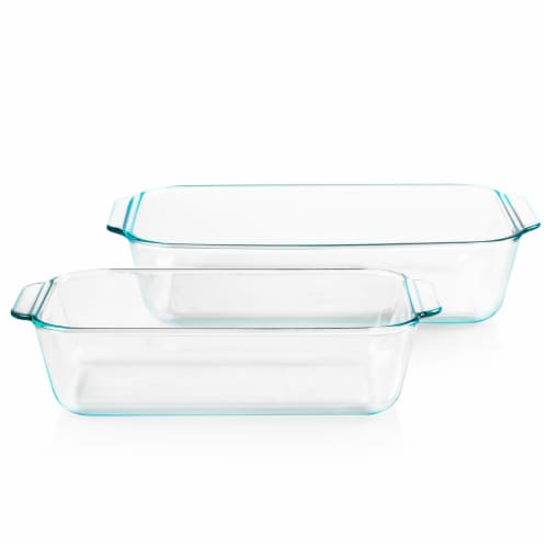 Pyrex Deep Glassware Value Pack Perspective: front