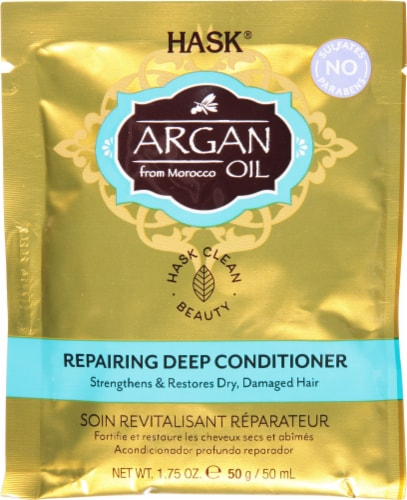 Hask Argan Oil Intense Deep Conditioning Hair Treatment Perspective: front
