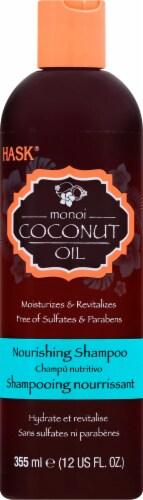 Hask Monoi Coconut Oil Nourishing Shampoo Perspective: front