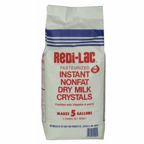Redi Lac Instant Nonfat Dry Milk Powder, 5 Pound -- 6 per case. Perspective: front