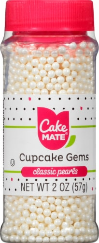 Cake Mate Cupcake Gems Classic Pearls Perspective: front