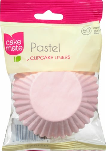 Cake Mate Festive Pastel Baking Cups Perspective: front