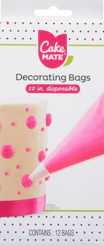 Cake Mate Decorating Bags Perspective: front