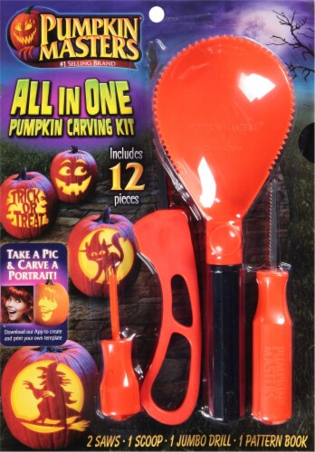 Pumpkin Masters® All in One Pumpkin Carving Kit Perspective: front