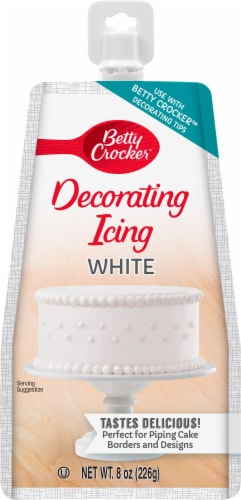 Betty Crocker White Decorating Icing Perspective: front