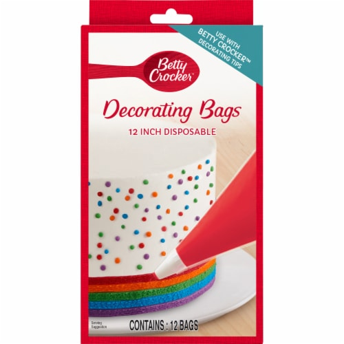 Betty Crocker 12-Inch Disposable Decorating Bags Perspective: front
