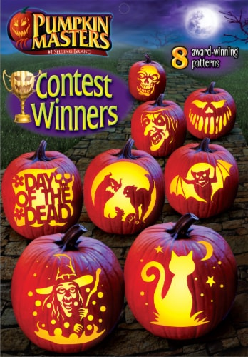 Pumpkin Masters® Contest Winners Pattern Book Perspective: front
