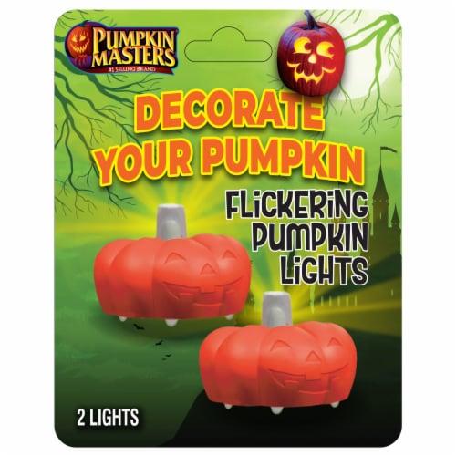 Pumpkin Masters® Flickering Pumpkin Lights Perspective: front