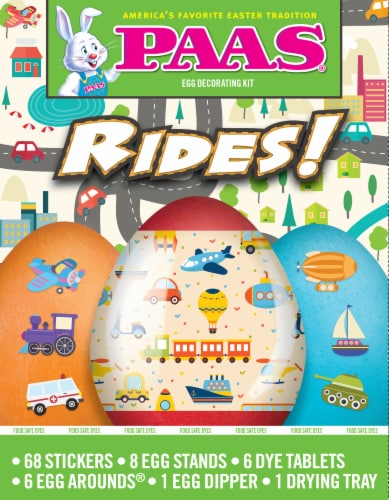 PAAS® Rides Egg Decorating Kit Perspective: front