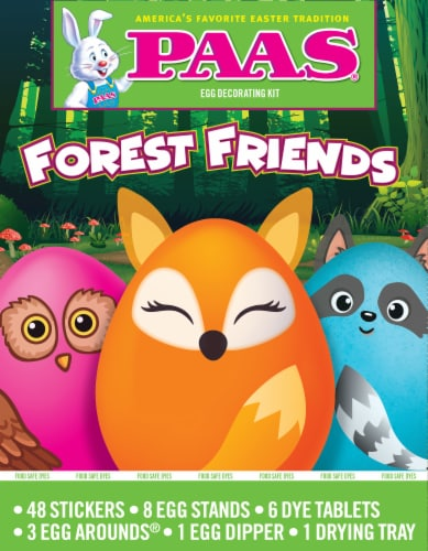 PAAS® Forest Friends Egg Decorating Kit Perspective: front