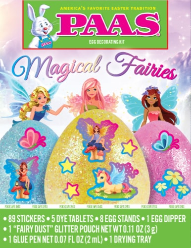 PAAS® Magical Fairies Egg Decorating Kit Perspective: front